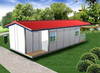 lowest price cheap prefabricated steel frame house and villas for living