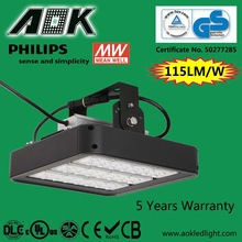 UL DLC TUV SAA 40-280W 5 Years Warranty Philips Chips and Meanwell Driver 100w cooper led high bay light