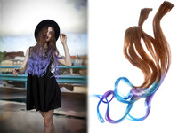 Best buy three tone rainbown ombre color virgin human hair weave hair extensions ombre hair weave