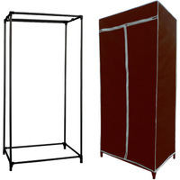 eco China made friendly easy assemble fabric bedroom wardrobe, wholesale custom design wardrobe