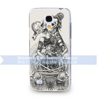 brand phone case customized girl and beast Design 3D Mobile Cover For Samsung S4 mini I9190 wholesale