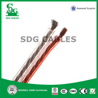 Hot Selling 2 core 18awg CCA Speaker Cable