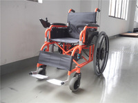 Power driving & manual driving folded electric wheelchair / li-ion battery / PG controller