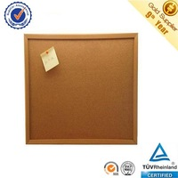 Made in China 1mm cork sheet surface 60x90cm wooden frame cork notice board wholesale cork board