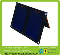 New Solar pack charger for suntech solar panel for mobile phone for iPhone and iPad directly under the sunshine