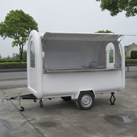 2014 Newly Yiying YY-FR280B High quality food van with car wheels