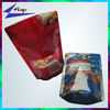 Heat Sealable Food Grade Bag with zip lock and Euro Hang Hole