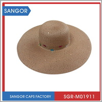 Durable original peru straw hat