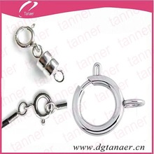 Jewelry connect stainless steel loaded clips circlips spring ring