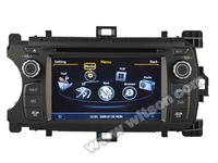 WITSON DOUBLE DIN CAR DVD FOR TOYOTA YARIS 2012 WITH A8 CHIPSET DUAL CORE 1080P V-20 DISC WIFI 3G INTERNET DVR SUPPORT