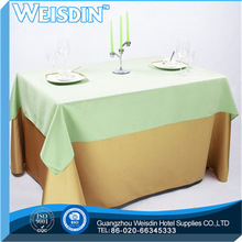 Satin Fabric hot sale Plain 2012 year new desin wedding table cloth