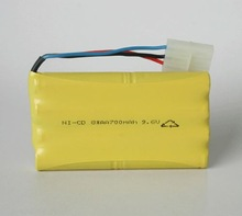 AA 800mah 9.6v Nicd Battery Pack