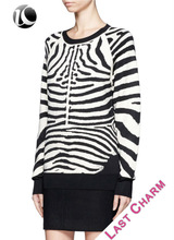 LAST CHARM classic outwear fashion computer knitted middle age women sweater