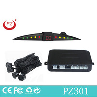 led parking sensor system car reverse backup radar alarm by bibi sound easy installation parking assist