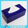 Lucite tissue paper box, perspex tissue dispenser box, acrylic tissue box cover