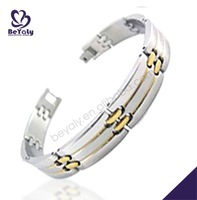 Unique stainless steel buckle diy korea fashion bracelet