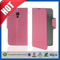 C&T Factory custom PU cover wallet filp leather case for xiaomi mi4