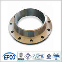 ASME 10'' 300# Steel Pipe fitting weld neck Flange