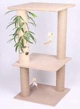 New model cat scratcher bamboo tree