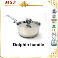 MSF-3680 as seen on tv product kitchen king cooker buffet utensils stainless steel saucepan with lid