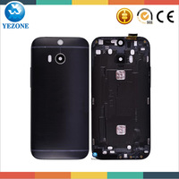 10 Year Professional Wholesale Original Back Cover For HTC One M8 Housing With Camera Lens and Power & Volume Buttons