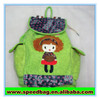 New design travel bag souvenir green backpack funny souvenir items