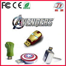 captain america usb flash drive corporate giveaways