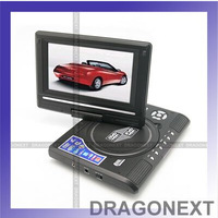 "Hot Portable 7.8"" EVD USB Game With Card Reader Slot DVD TV Player"