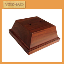 OEM FSC wooden words with base,wood tray stand