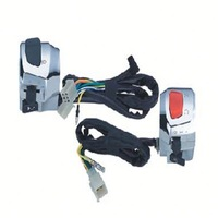 Motorcycle QUAD warning light switch