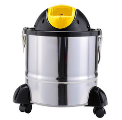 Wet and dry power ash cleaner with fiter Stainless steel floor sweeper automatict vacuum