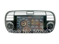 Factory Price Car Radio DVD For Fiat 500 With Central Multimedia GPS Navigation Hot Selling