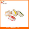 "NATURAL RAWHIDE MINI SHOES 3"" PACK 25 DOG PUPPY CHEW TREAT TOY COLOR FREE SHIPPING"