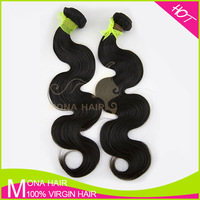 7a Top grade Peruvian virgin hair extension free sample