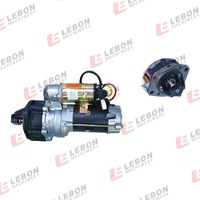 Auto engine car motor/bosch starter motor 12v electric motor for PC200-5/6 6D95 600-813-4421 0-23000-2561