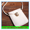 White handphone bag cell phone neck hanging bag