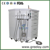 Dental Unit Surgical Instrument Top Mobile Dental Cabinet