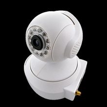 DIY Easy Setup Pan/Tilt HD 720p WLAN Network Camera IR Wireless Cloud Camera