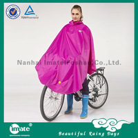 Fashional designed high quality bicycle rain poncho