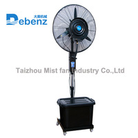 Debenz brand mobile air cooler misting system water cool fan