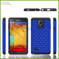 HIGH quality product shining star pc hard mobile phone case for samsung note 4