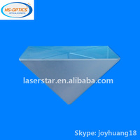 Right angle triangular prism with mirror coating for periscope