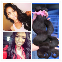7A Top quality wet and wavy virgin Brazilian remy hair extension