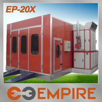 Best selling CE approved spray booth heater/spray paint white/car painting room price