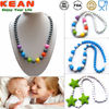 Kean Chewable Necklace/Food Grade FDA BPA Free Baby Teething Organic Cotton Baby Clothing Sets