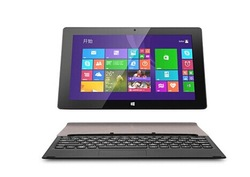 LINFE -090 high quality low price brand new 10 inch windows 8 Intel tablet pc laptop with detachable keyboard