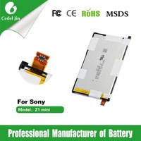 spice cell phone battery For Sony Z1 mini D5503 Z1 Compact 3.8v battery
