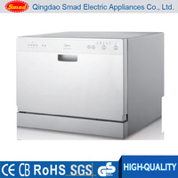 New High speed Electronic compact portable Counter top dishwasher