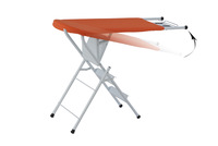 FARO MAIN MODEL Multifunctional Mesh Folding Ironing Board With A Step Ladder IB-6D