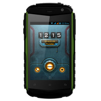 DOOGEE TITANS DG150 Mobile Phone with MTK6582 512MB RAM 4GB ROM 3.5inch HVGA Screen 1.3MP+2MP Camera 1500mAh Battery